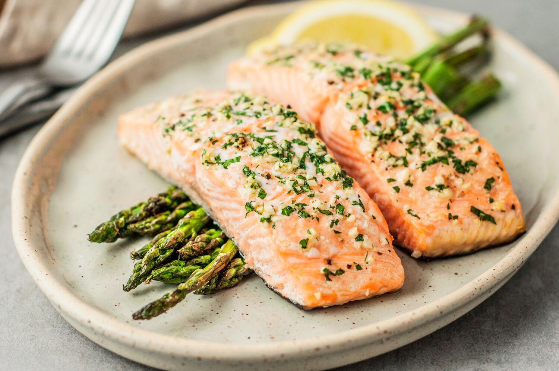 Omega 3 salmon