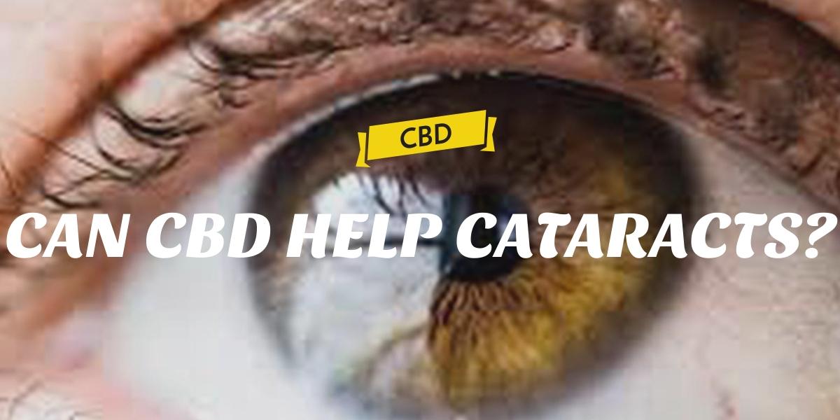 CAN CBD HELP CATARACTS?