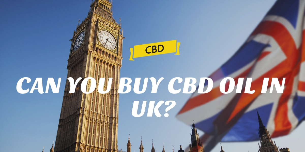 CAN YOU BUY CBD OIL IN UK?