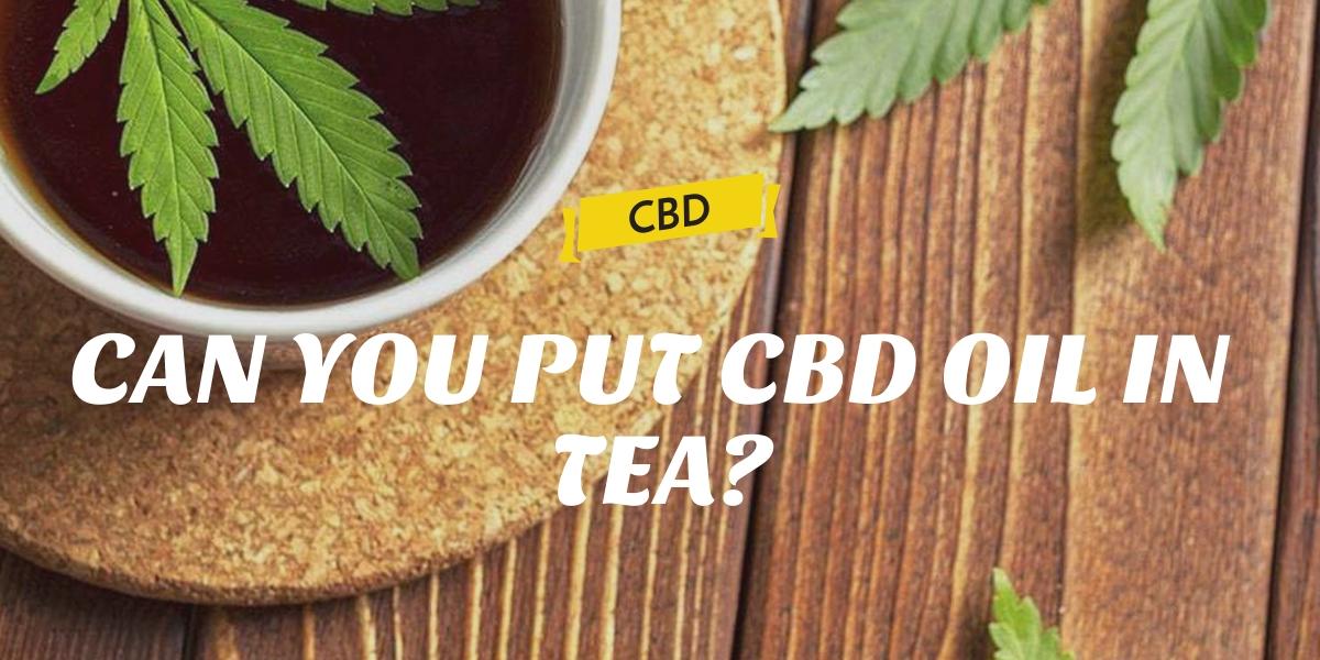 CAN YOU PUT CBD OIL IN TEA