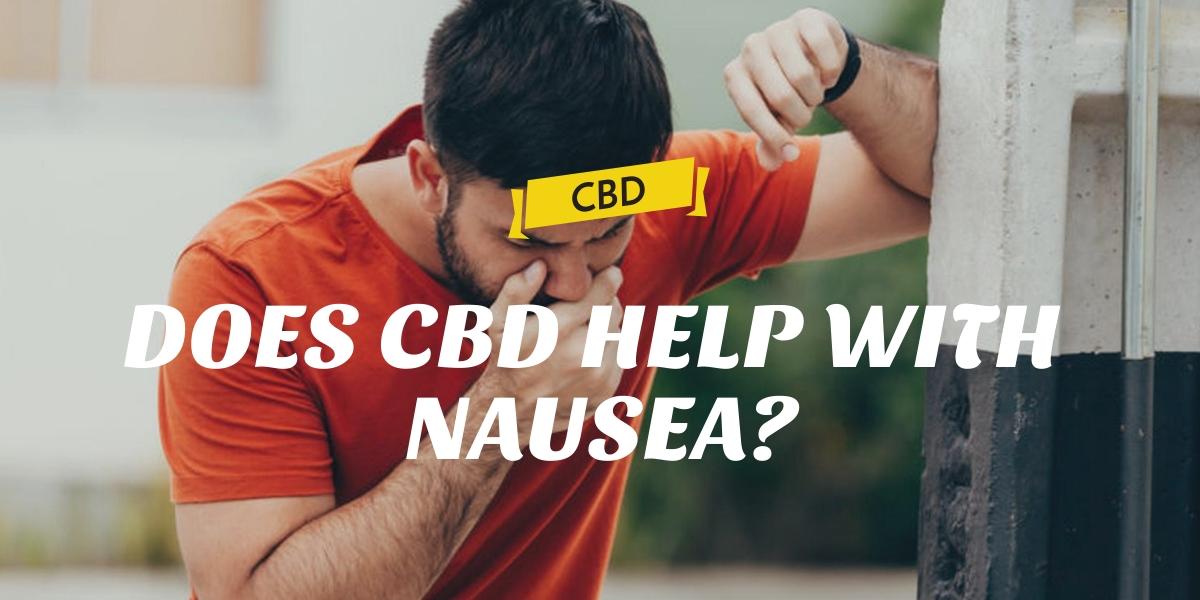 Does CBD help with nausea?